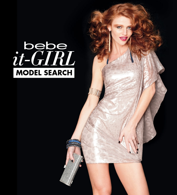 bebe It-Girl Model Search