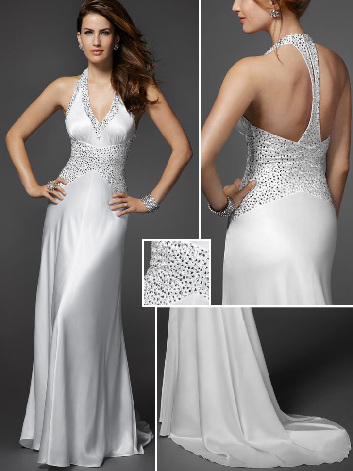 Form Fitting Wedding Dresses 85