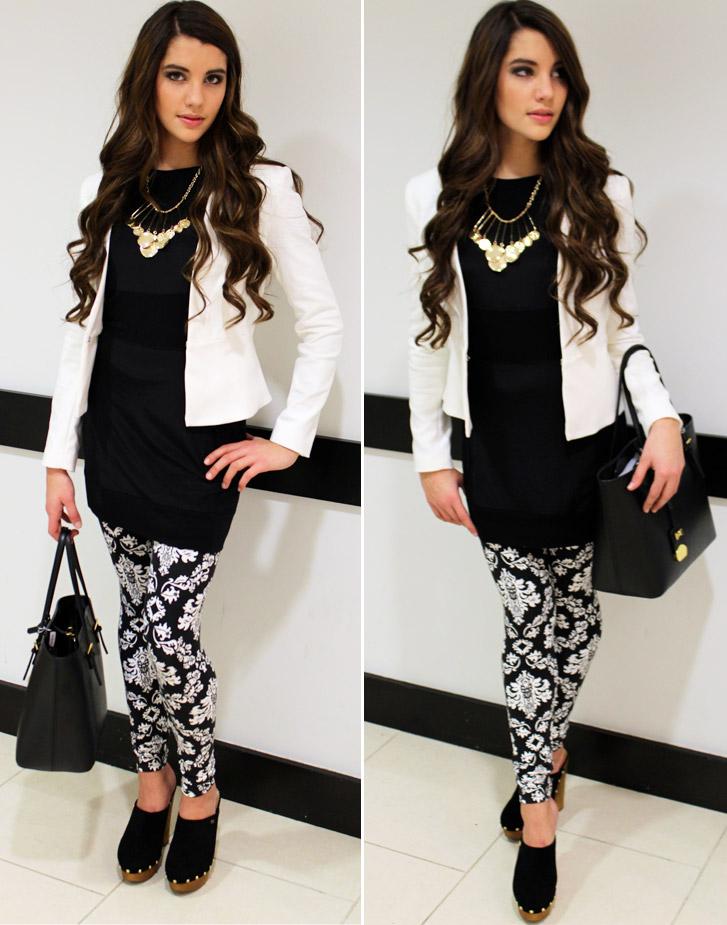 Styling Tips 4 Fab Ways To Wear Leggings Stylust The