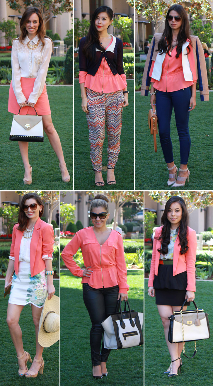 bebe-Girls-Who-Lunch-Bloggers-coral