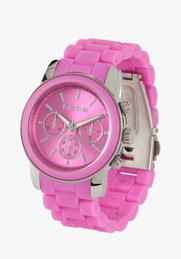 pink bebe watch
