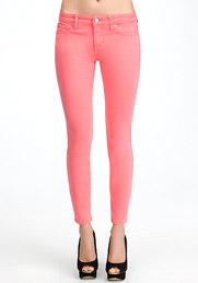 pink bebe skinny jeans