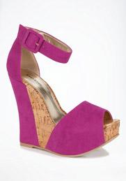 pink bebe sandal