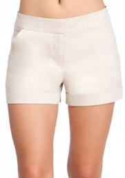 bebe linen shorts