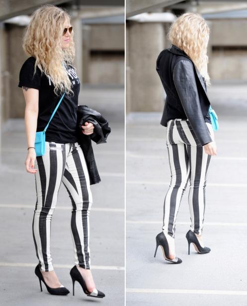 blonde bedhead bebe jeans