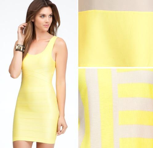 bebe-STYLUST-yellow