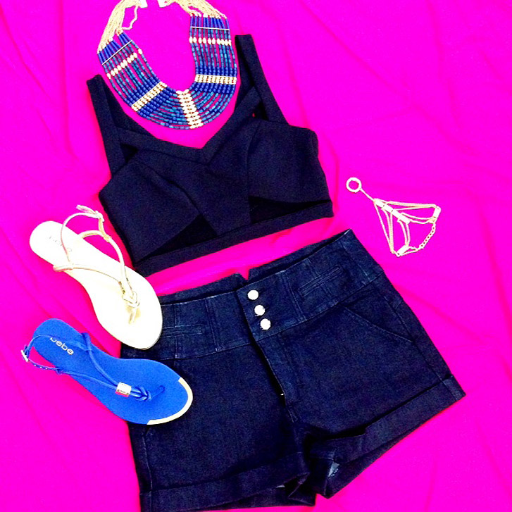 bebe coachella outfit