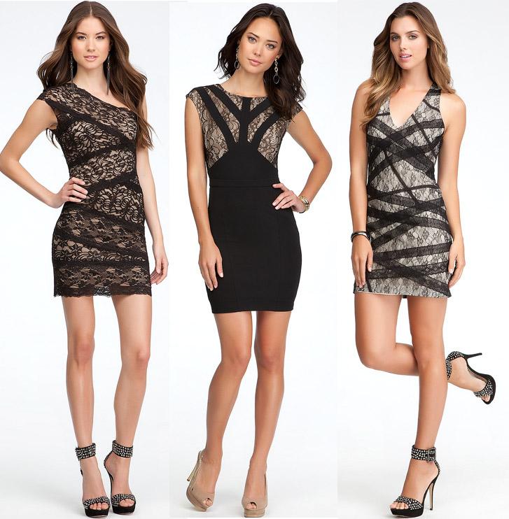 bebe-lace-dresses