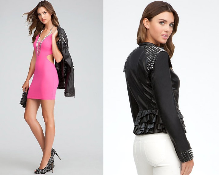 Just One Thing: Studded Leather Jacket