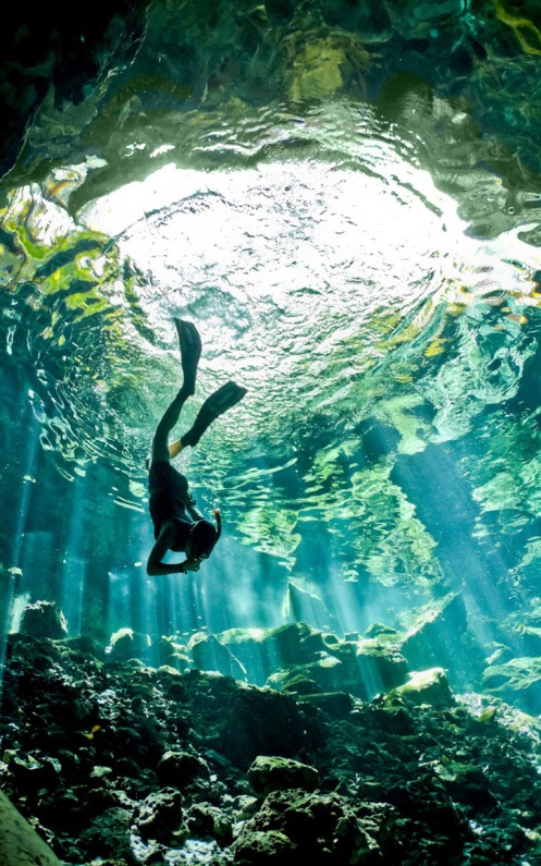 Deep Diving Mexico