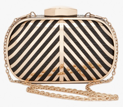 bebe-striped-minaudiere